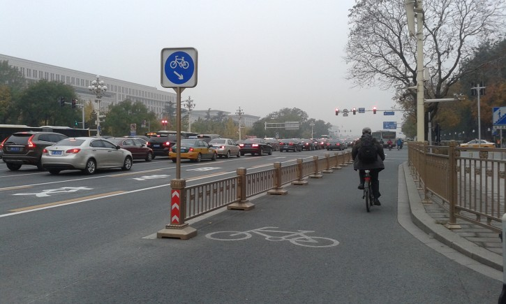 Bike Way in Beijing